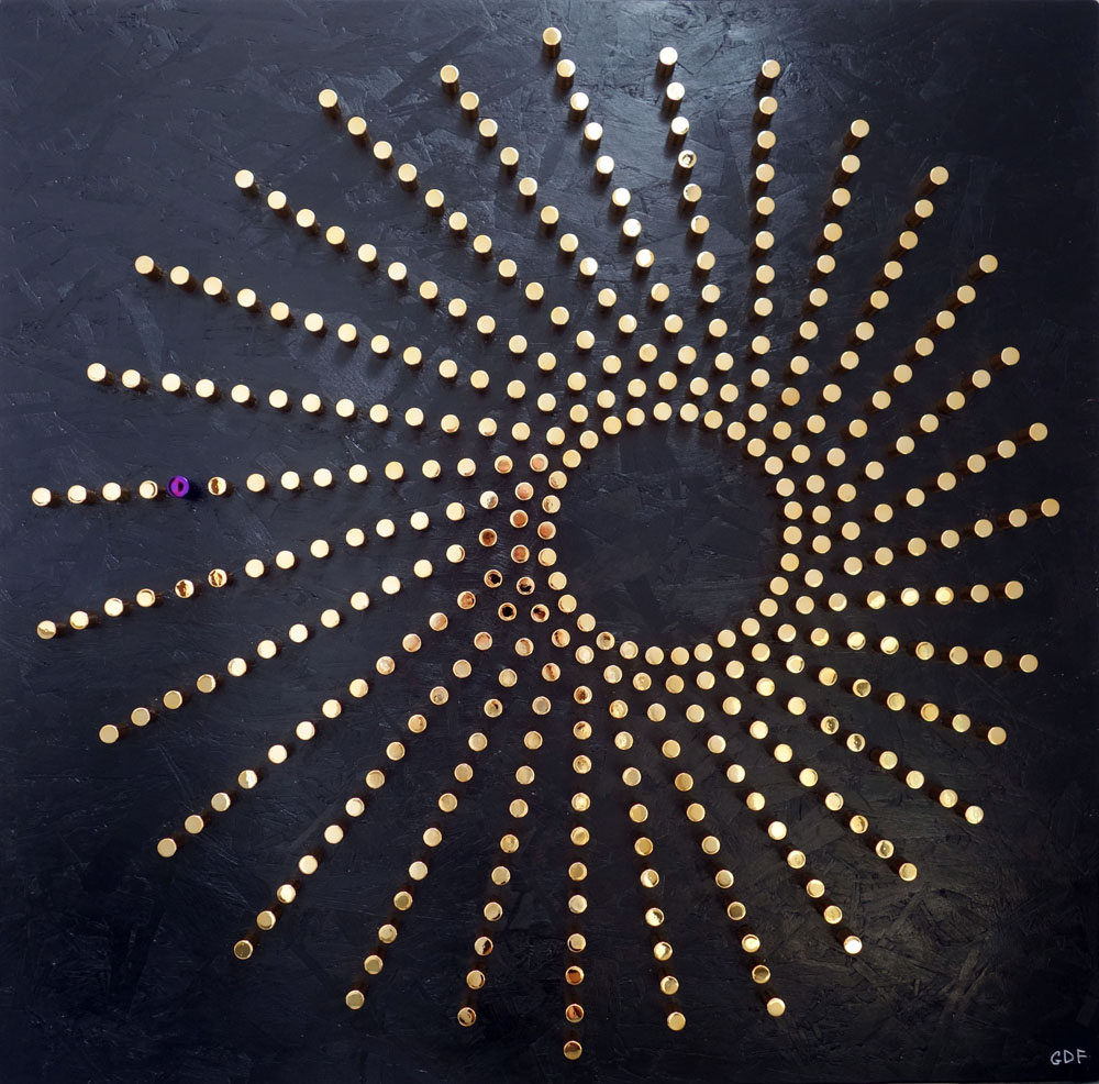 sun wall sculpture